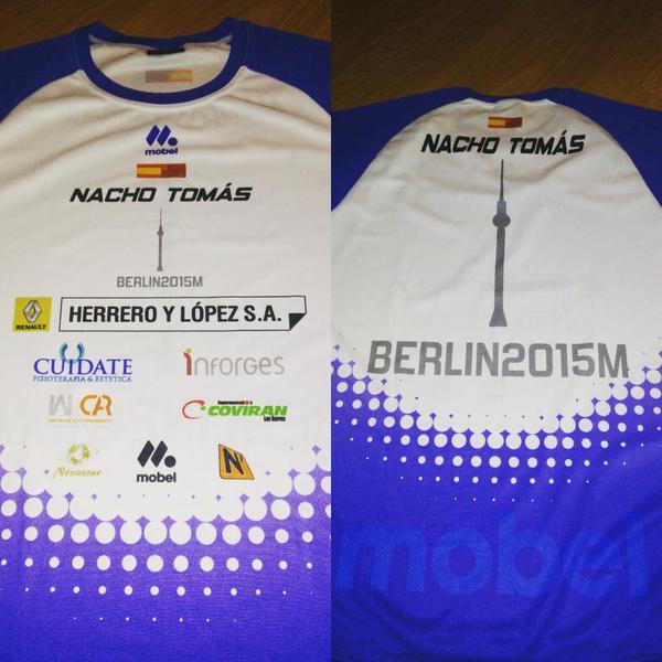 Dorsal Maraton de Berlín