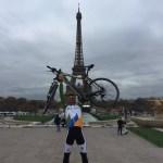 A París en bicicleta.