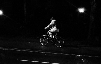 Betrunken mit dem Fahrrad unterwegs