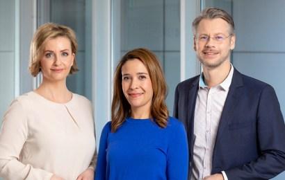 Jasmin Hekmati, Julia Theres Held und Andreas Klinner. Copyright: ZDF / Jana Kay