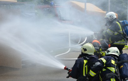 Brand eines Wohnhauses in Tegernheim