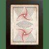 Nachtgnosis ORATIO Series - Strukturscherben - Artprint Kunstdruck Wandschmuck A4 - Rahmen Puritas - Papier Vintage