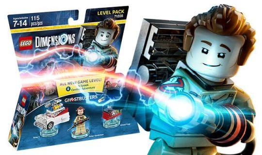 Lego Dimensions Cazafantasmas