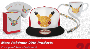 20 aniversario Pokemon