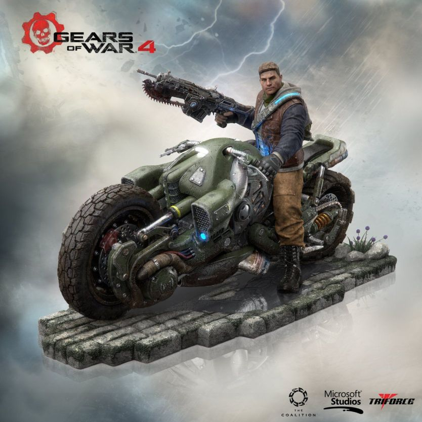 Gears of war 4 coleccionista outsider