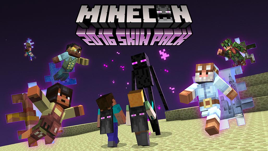 Consigue gratis las capas de la Minecon con este pack de skin para Minecraft