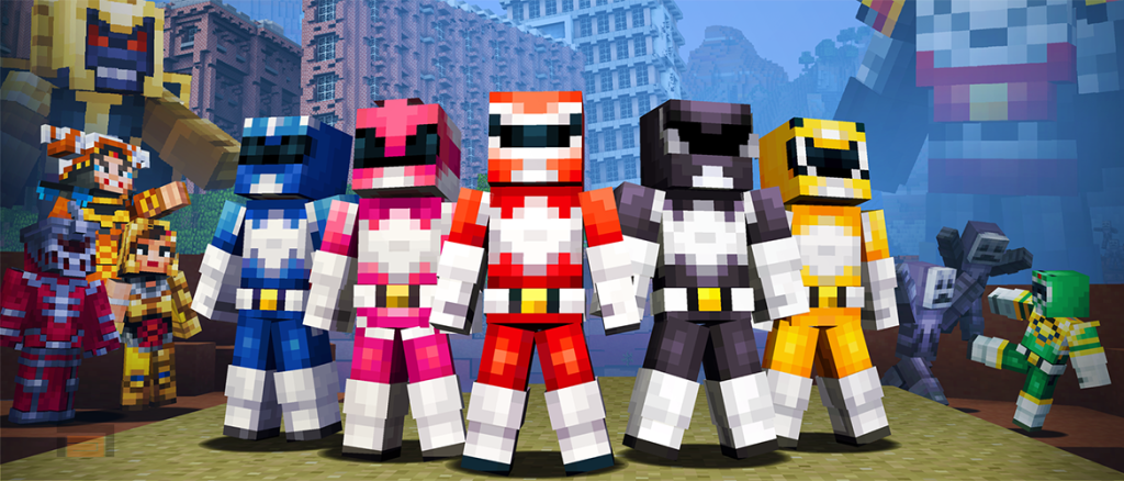 Minecraft. Power Rangers