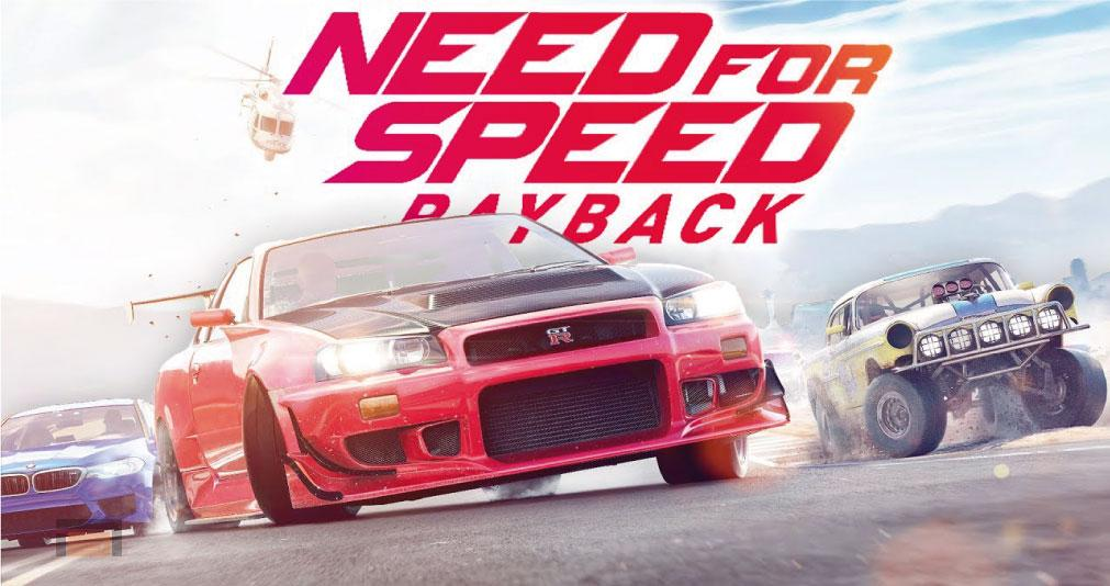 EA da nuevos detalles del modo Online de Need for Speed Payback