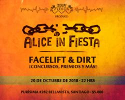 Alice in Fiesta, realizarán fiesta de previa de Alice In Chains en Chile
