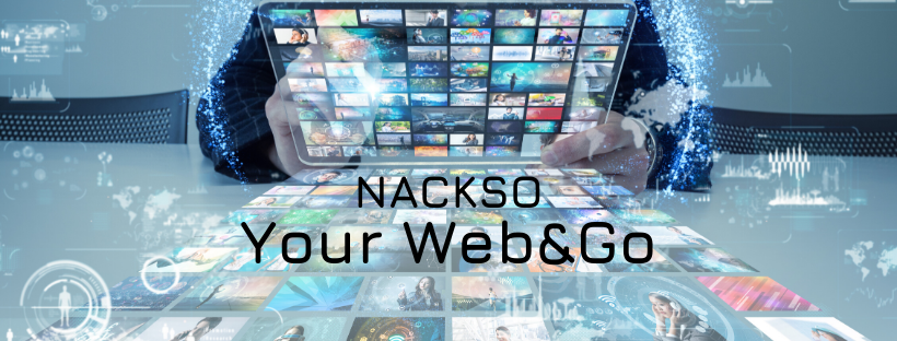 Conception de sites web - Nackso Your Web&Go