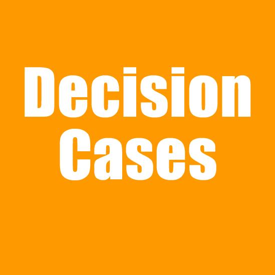 Decision Cases