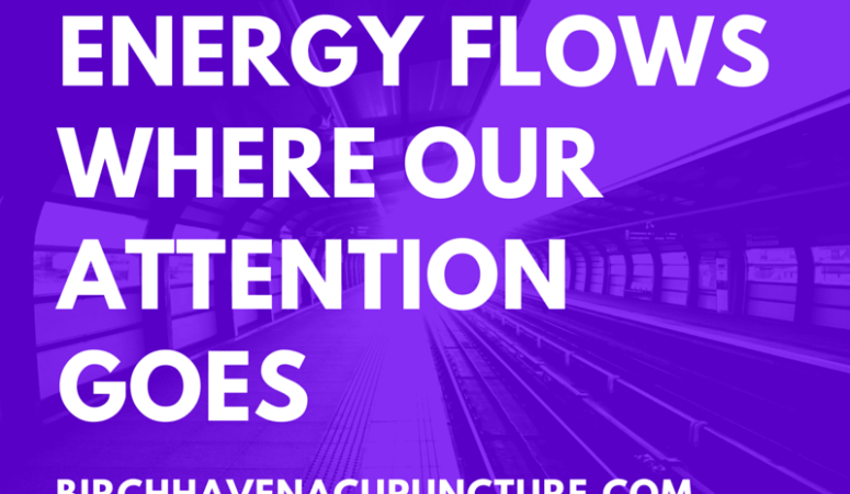 Energy flows where our attention goes