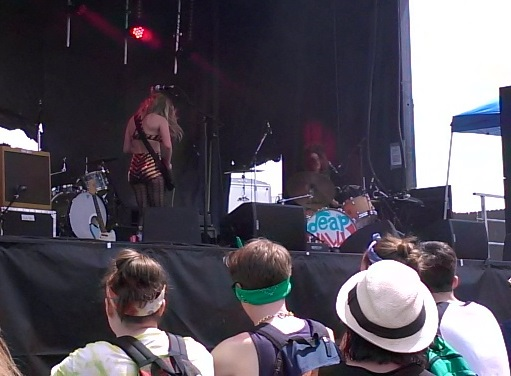 Deap Vally at Sasquatch 2014