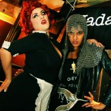 Patrons at #Metalween last year at the Rendezvous