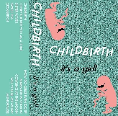 Childbirth It's a Girl on www.nadamucho.com