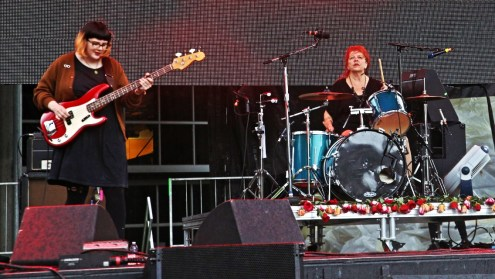 Babes in Toyland at Bumbershoot 2015 by Jim Toohey for Nada Mucho