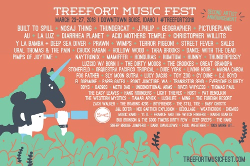 Treefort Music Fest 2016 poster on NadaMucho - Copy