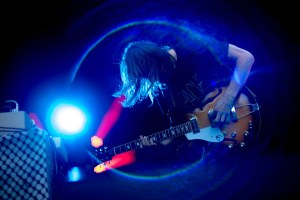 Christian Bland of the Black Angels at Levitation Fest Vancouver 2015 by Travis Trautt..