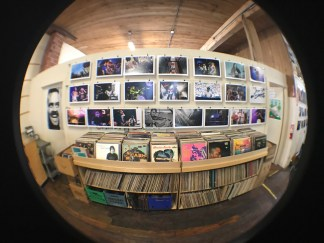 Our CHBP photo tribute up inside Everyday Music all weekend.