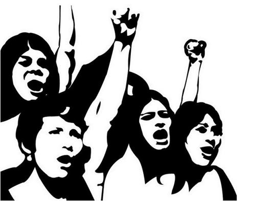 mulheres luta