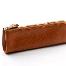 Italy leather ペンケース NI-003