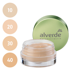 alverde Gel Make-up (10 soft honey, 20 light beige, 30 melted caramel, 40 creamy toffee)