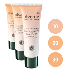 alverde Professional Magic Effect Make-Up (10 light, 20 light-medium, 30 medium)