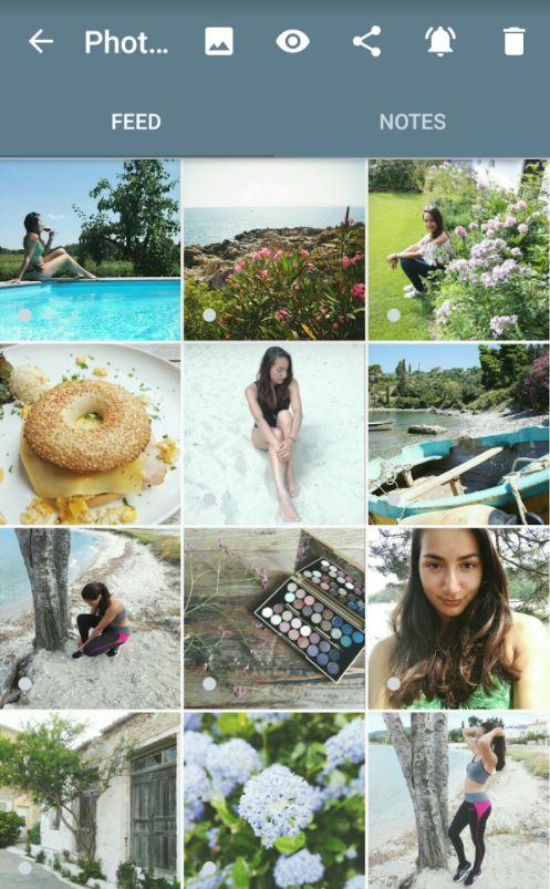 Instagram foto's bewerken in Feed Master App