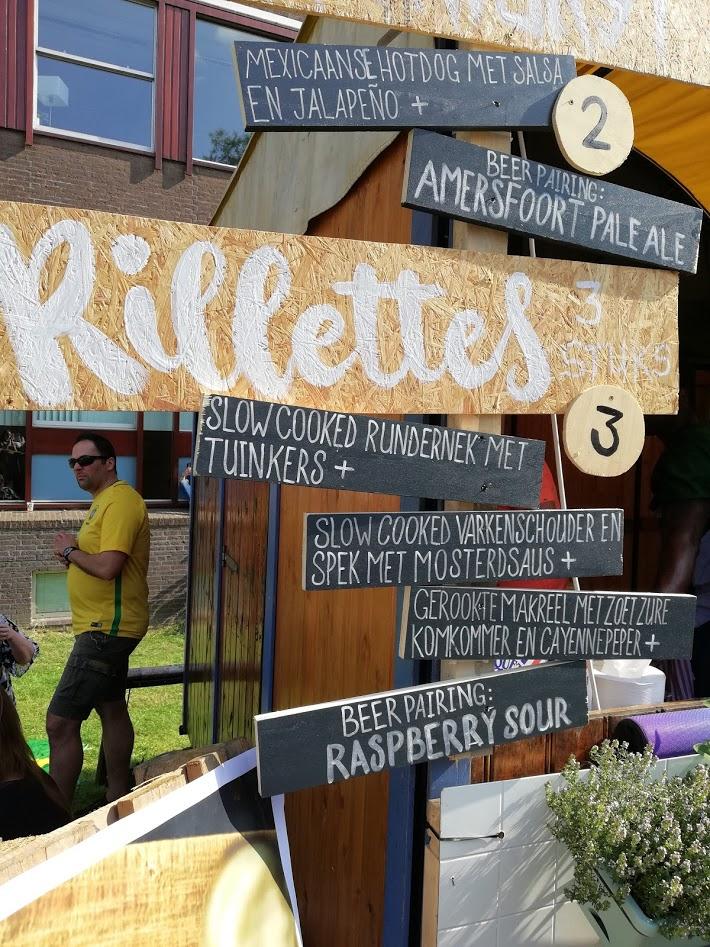 Rilettes menukaart