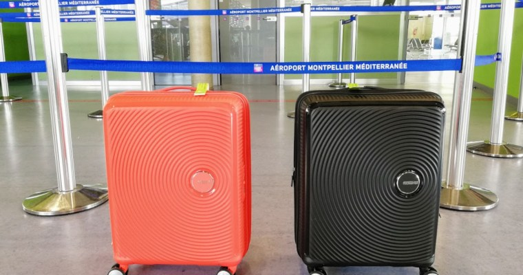Getest: American Tourister Soundbox Suitcase
