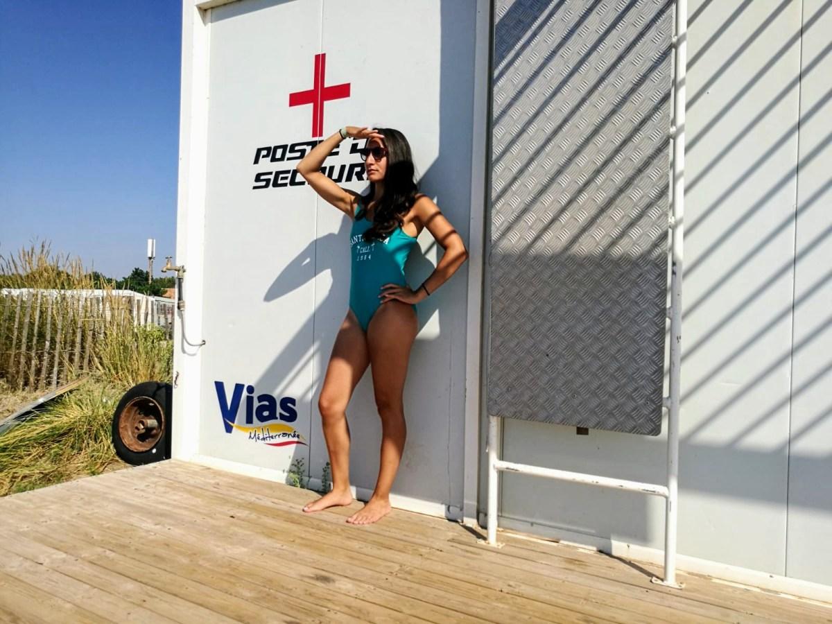 Santa Monica badpak van Primark