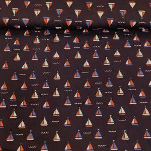 Jersey Segelboote Dunkelblau