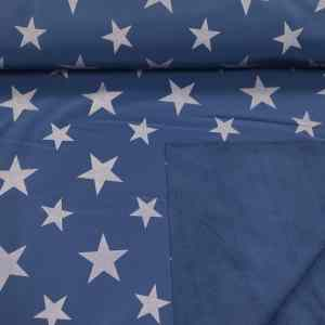 Softshell Blau Sterne ,Swafing
