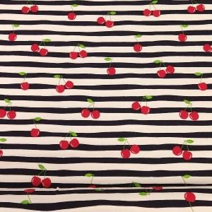 Jersey Cherry on Stripes