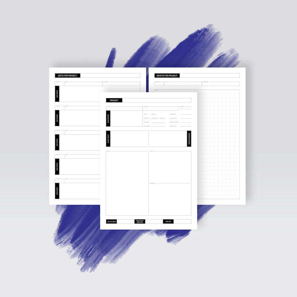 Artist Project Planner // nadinebatista.de