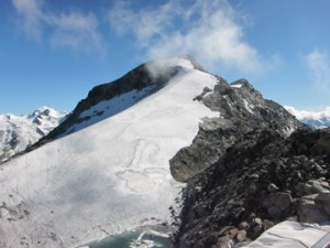 Glacier at Corvatsch