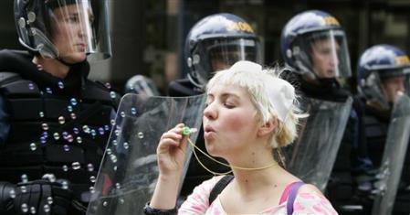Bubbles Against Capitalism