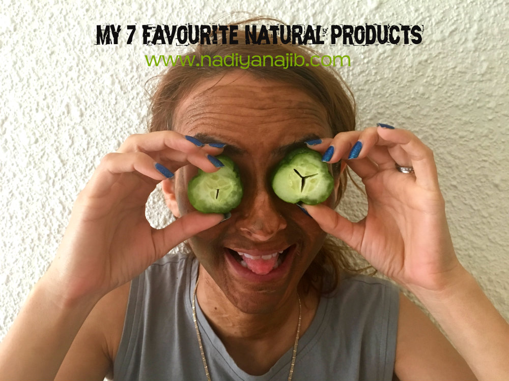Organic Radiance: My 7 Favourite Natural Products