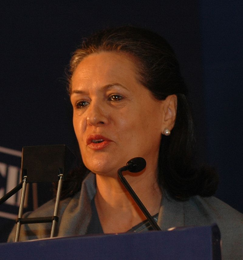 India's Sonia Gandhi Urges PM Modi To Give Women More  Power