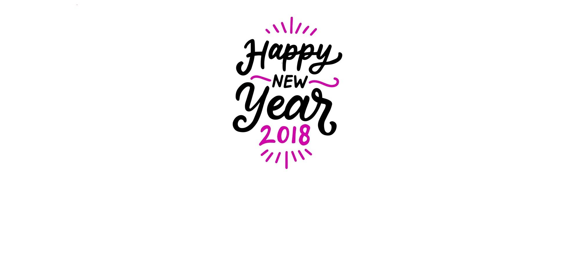 Goodbye 2017, hello 2018!