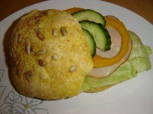 Morotsbröd med keso