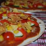 Mexikansk grönsakspizza med tacotopping - linas matkasse - vegetariskt - propoints - nadjaskitchen.se - taco -