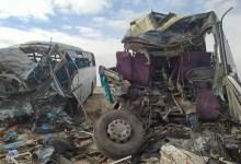 Photo of 13 قتيلا و46 جريحا في حادث اصطدام حافلتين لنقل المسافرين بالوادي