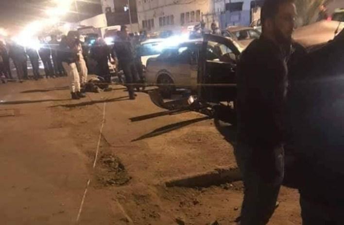 حادث مرور محطة الخروبة العاصمة