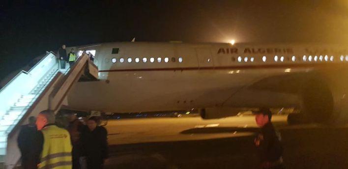 ووهان الجوية الجزائرية طائرة