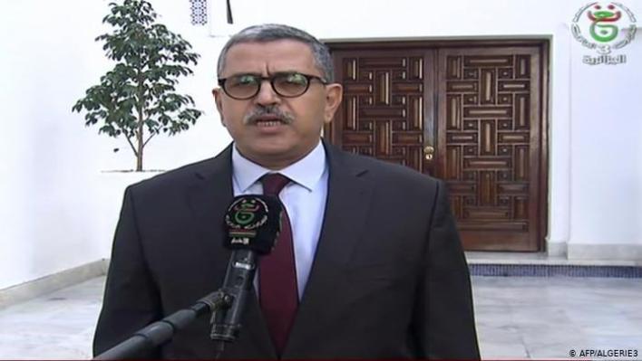الوزير الأول عبد العزيز جراد