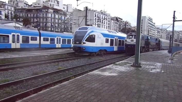 قطار الجزائر كورونا