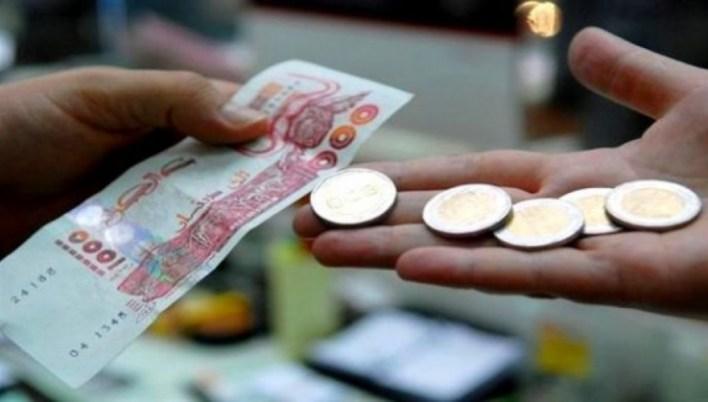 النقود الجزائر الدينار