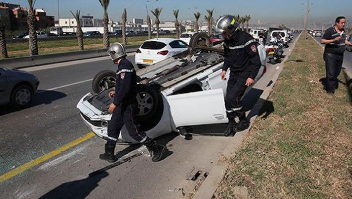 حوادث المرور الجزائر
