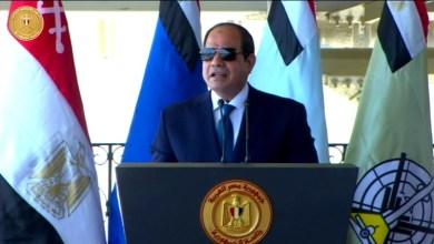 Photo of السيسي: أي تدخل للجيش المصري في ليبيا بات مشروعا